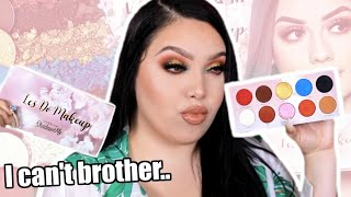How I really feel..Les Do Makeup X Live Glam Palette | FUEGO or NO PUEDO?!