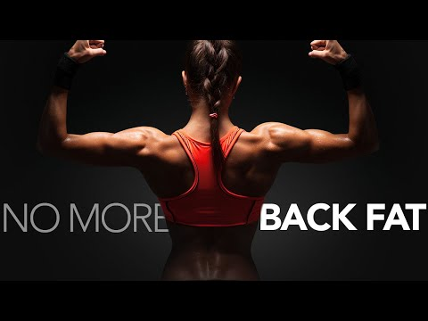 How To Get Rid of Back Fat (CARDIO & STRENGTH)