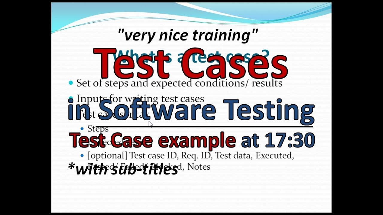 what is manual testing with example