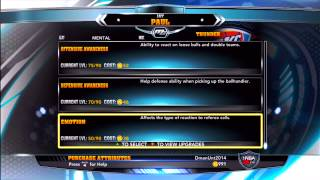 NBA 2K14 MyCAREER: Attribute Update + New Shoes By Stax