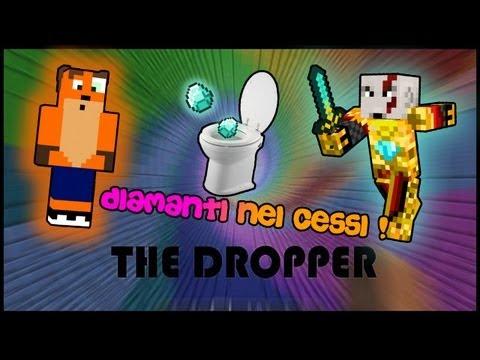 DIAMANTI sgommando... nelle MUTANDE! -  The Dropper #2 - Minecraft CRAZY CUSTOM MAP!