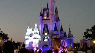 First Cinderella Castle Lighting At Walt Disney World Nov