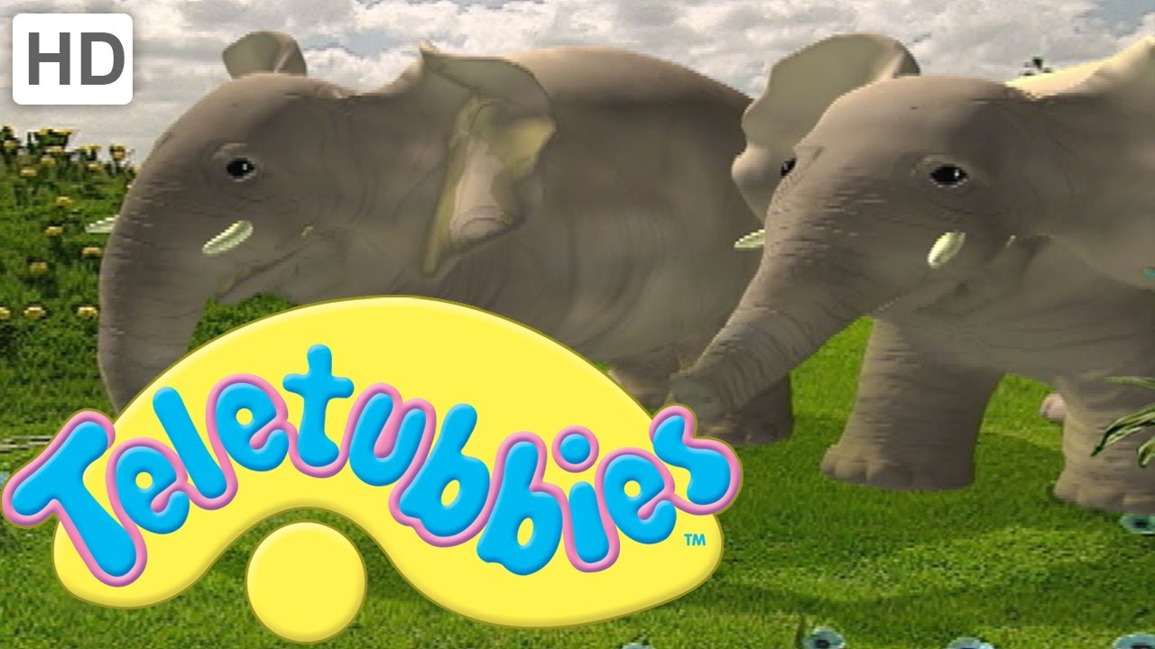 teletubbies magical event animal parade clip youtube