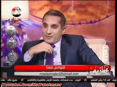 فيديو باسم يوسف يكشف حقيقة خلافه مع توفيق عكاشة