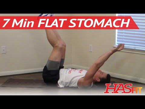 how to get flat abs in 10 minutes