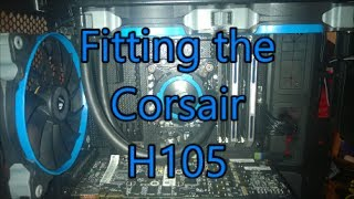 Corsair H105. Full Installation
