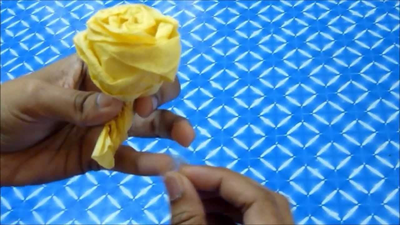 Famous Tissue Paper Flowers Youtube Mold Wedding And Flowers