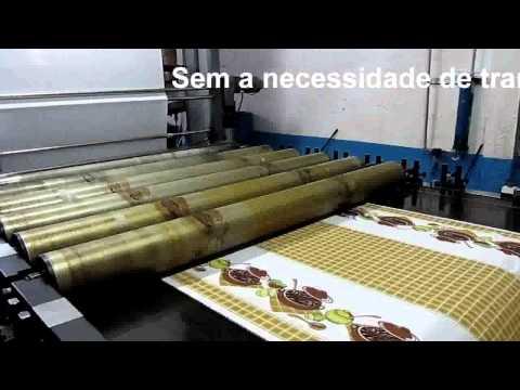 Máquina de Estampar Rotativa - www.i9maquinas.com.br
