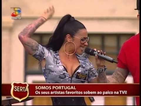 Ana Malhoa  tá turbinada  ( somos Portugal ) TVI