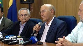 OPERAÇÃO PLATEIAS: Governador Confúcio Moura fala sobre ação da PF - Reprodução