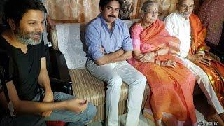 Pawan Kalyan and Trivikram Srinivas Met K Viswanath