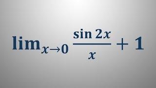 Limita trigonometrične funkcije 6