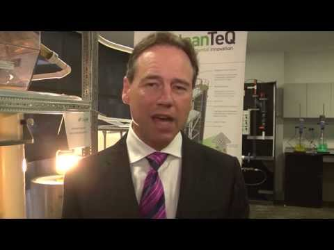 CleanTeQ R&D Facility launched by the Hon. Greg Hunt, Federal Minister for the Environment