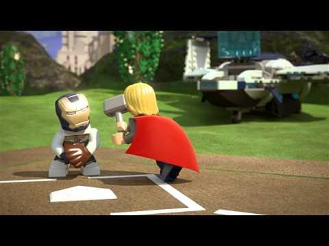 Lego Super heroes - Kapit�n Amerika hr� baseball