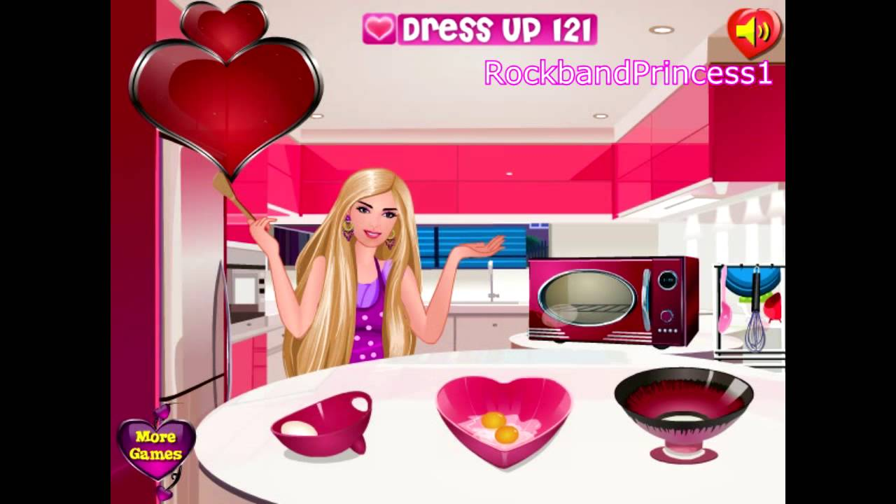 Barbie Cooking Wedding Cake Games