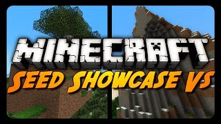 "Minecraft: Seed Showcase VS - ""Diamonds"" Vs ""Ruby""!"