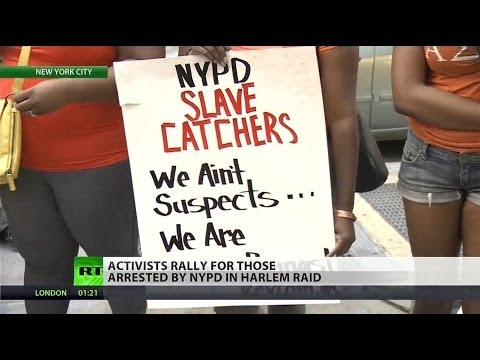 Mass NYPD raid in Harlem leads to protests