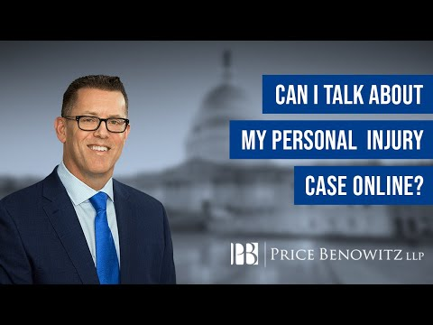 Can I Talk About My Personal Injury Case Online? DC Personal Injury Attorney