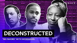 "The Making Of Big Sean & Eminem's ""No Favors"" With WondaGurl 