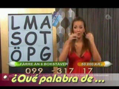 Presentadora de Programa de telejuegos se vomita EN VIVO!