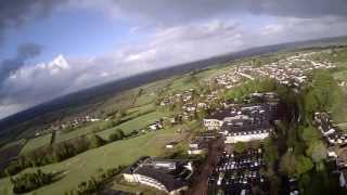 Hubsan X4 Flight At High Altitude With 808 #16V2
