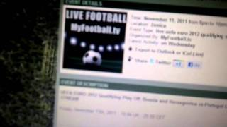 HOW TO WATCH LIVE FOOTBALL (SOCCER) MATCHES ONLINE FOR