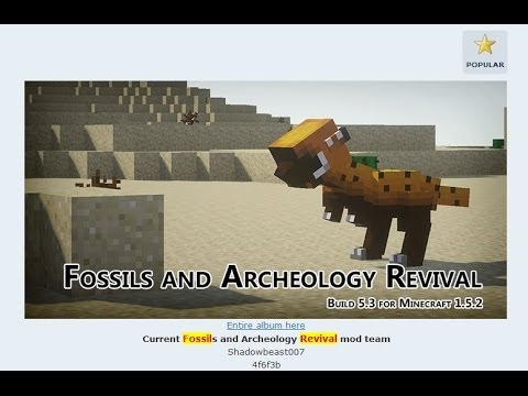 how to find fossils minecraft
