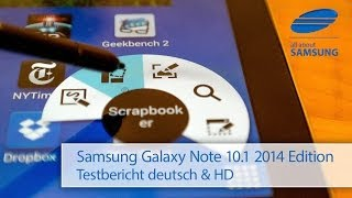 Samsung Galaxy Note 10.1 2014 Edition SM-P605 Review