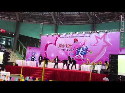 THPT Tân Yên dance cover giao lưu văn nghệ