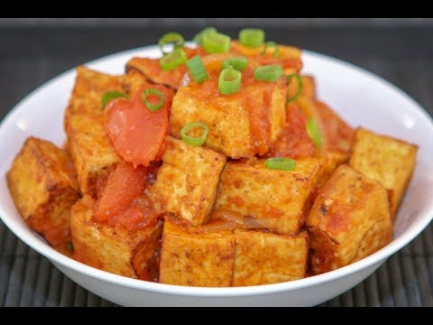 Tofu in Tomato Sauce (Dau Hu Sot Ca)