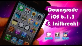 How To Downgrade IOS 6.1.3 On IPhone 4, 3GS, & IPod 4G