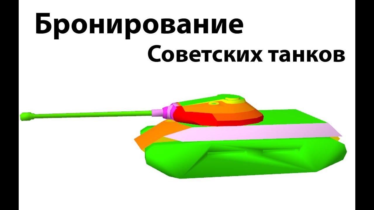 Рентген - Бронирование советских танков