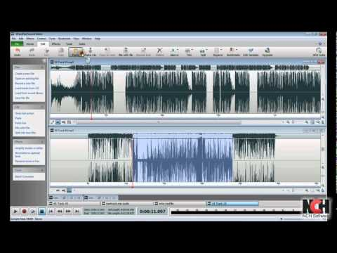 WavePad Audio Editor v.5 - Intro to Editing