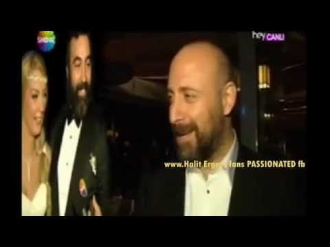 Halit Ergenc & Berguzar Korel at Hasan & Nazli's wedding 19/10/2014