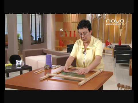 Utilísima Bien Simple, Nova, Cómo tejer en telar con Marian San Martín