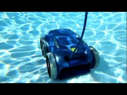 robot piscine zodiac vortex 1 3 4 youtube. Black Bedroom Furniture Sets. Home Design Ideas