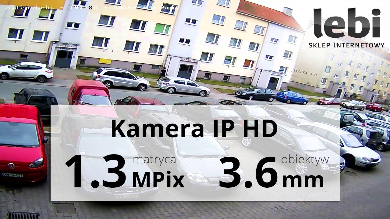 Kamera IP HD 1280*960 - Nagranie w dzień