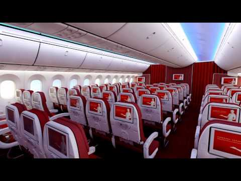 Hainan Airlines 787 new version video