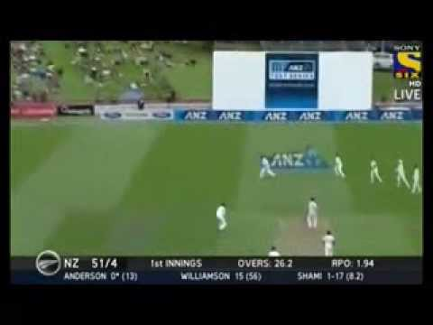 India vs New Zealand 2014 2nd Test Highlights NZ vs IND Day 1