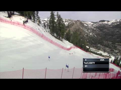 Ted Ligety 2014 US Nationals GS Run 1