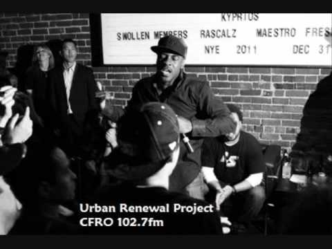 Urban Renewal Project-CFRO 102.7fm Canada radio