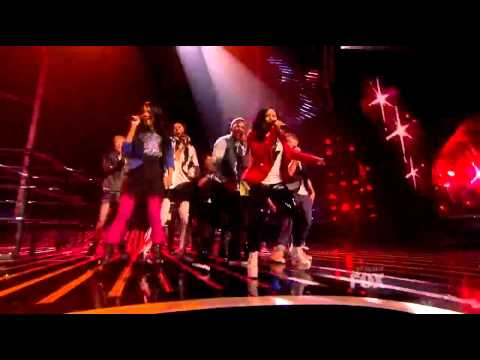 INTENSITY - Footloose - The X-Factor USA - TOP 17 in HD (High Quality)