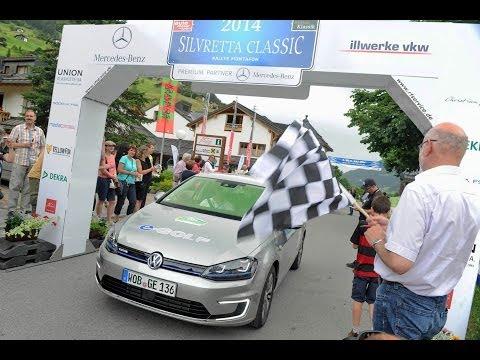VW e-Golf gewinnt die Silvretta E-Auto Rallye