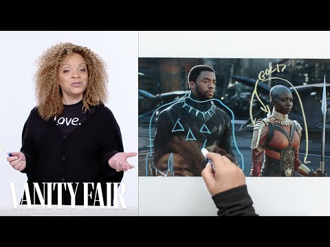 breaking down the costumes of Black Panther