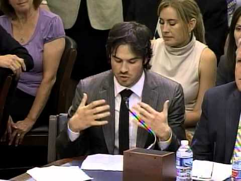 Ian Somerhalder's testimony at Natural Resources Hearing on the domestic ivory ban