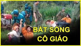 [Sốc]: Chủ tịch xã Đăk Hoà điều động hàng trăm lực lượng cưỡng chế đến cướp đất và đánh đập Cô Giáo