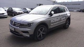 2017 Volkswagen Tiguan 2.0 TSI DSG 4Motion Highline. Обзор (интерьер, экстерьер, двигатель).. MegaRetr