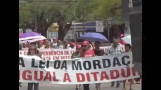 Manifestação em Porto Velho -