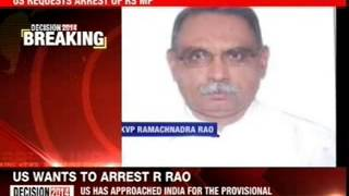 US requests arrest of KVP Ramachandra Rao