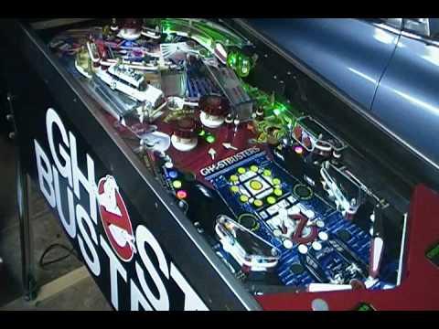 ghostbusters pinball machine